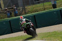 Jonathan Rea, Kawasaki Racing Team, beim Verlassen der Strecke