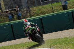 Jonathan Rea, Kawasaki Racing Team runs out