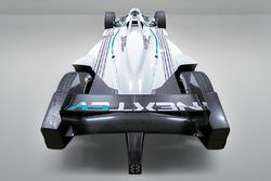Nueva decoración del NEXTEV TCR Fórmula E Team 2017