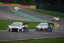 #27 Sainteloc Racing, Audi R8 LMS: Michael Blanchemain, Jean-Paul Buffin, Valentin Hasse-Clot, Gille