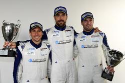 LM GTE Am second place #78 KCMG Porsche 911 RSR: Christian Ried, Wolf Henzler, Joël Camathias