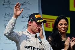 Nico Rosberg, Mercedes AMG F1 en el podio