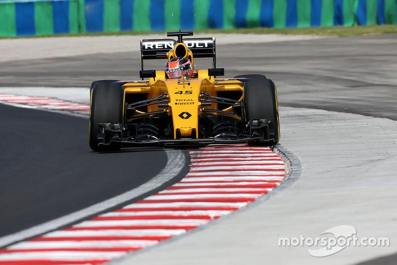 Esteban Ocon, Testfahrer, Renault Sport F1 Team