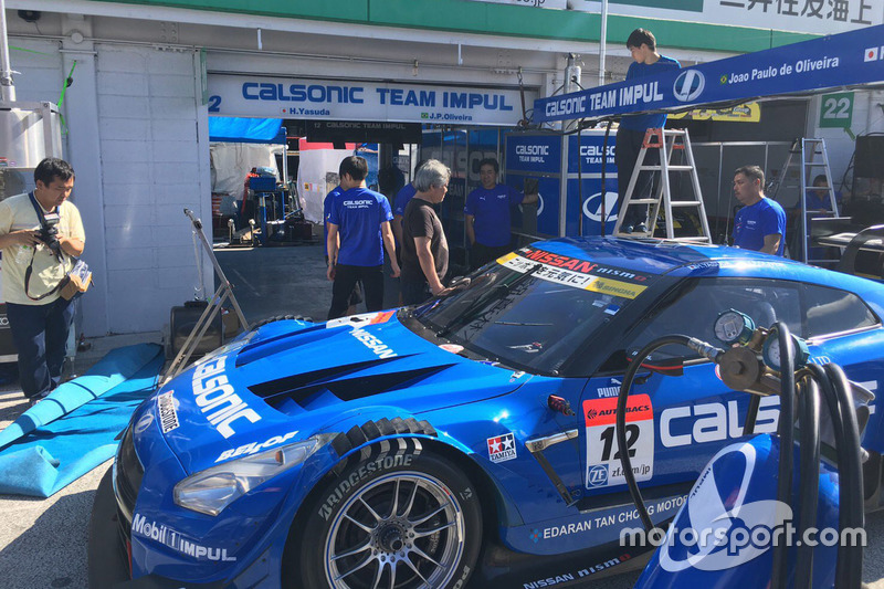 #12 Calsonic Impul, GT-R GT500