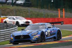 #56 Black Falcon, Mercedes-AMG GT3: Abdulaziz Al Faisal, Daniel Juncadella, Oliver Morley, Miguel Toril