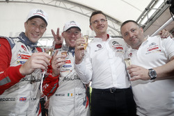 Ganadores Kris Meeke, Paul Nagle, Citroën DS3 WRC, Citroën World Rally Team