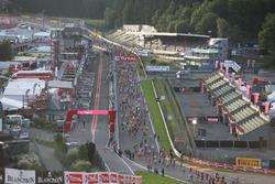 Atmosfera alla corsa di Spa