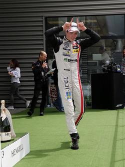 Rookie podium, Joel Eriksson, Motopark, Dallara F312 - Volkswagen