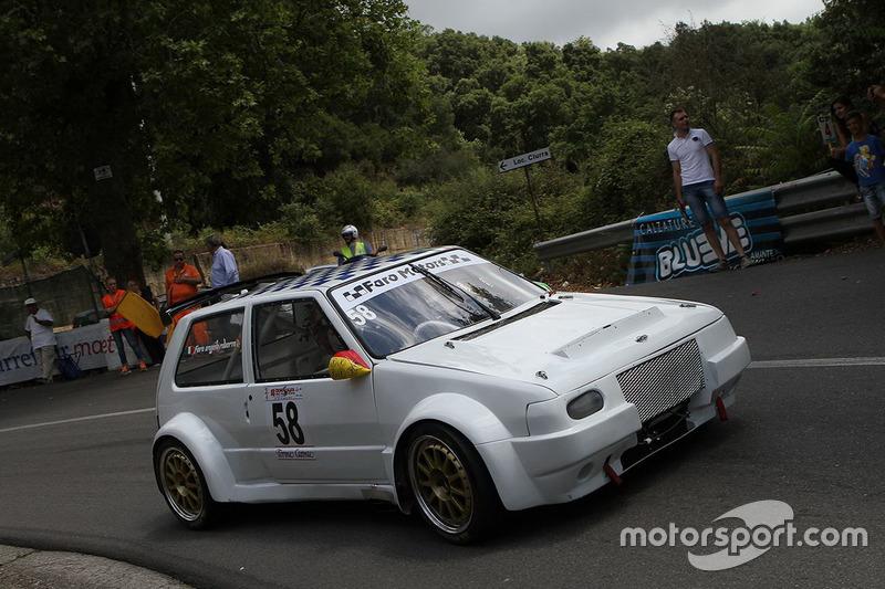 Roberto Angelo Faro, Fiat Uno Turbo iE