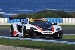 #59 McLaren Melbourne McLaren 650S GT3: Grant Denyer, Matthew Kingsley
