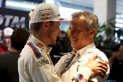 Marco Wittmann (GER) BMW Team RMG, BMW M4 DTM and Jens Marquardt (GER) BMW Motorsport Director. 21.