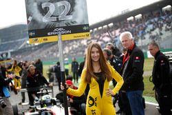 Chica de la parrilla de Joel Eriksson, Motopark Dallara F312 - Volkswagen