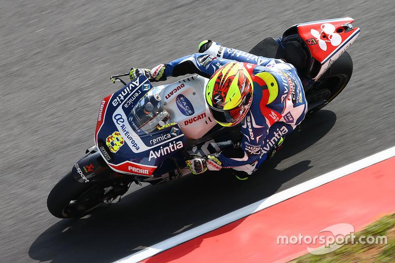 Barberá devant la Ducati officielle de Iannone ?