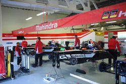 Mahindra Racing garage