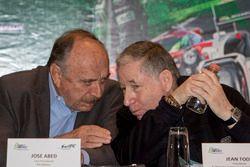 José Abed, Vice presidente de FIA México y Jean Todt, Presidente de FIA