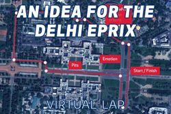 ePrix di Delhi, ipotesi di tracciato