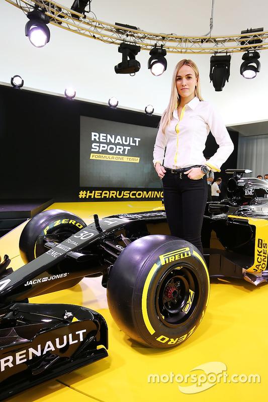 Carmen Jorda, Renault F1 Team piloto de desarrollo