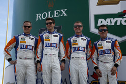 #54 CORE autosport Oreca FLM09 : Jon Bennett, Colin Braun, Mark Wilkins, Martin Plowman