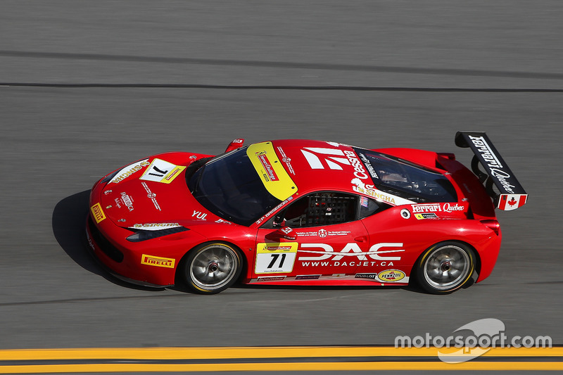 #71 Ferrari of Québec Ferrari 458: Patrice Brisebois