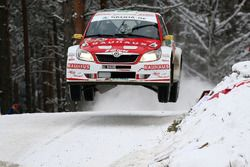 Йохан Кристофферсен и Патрик Барт, Skoda Fabia S2000
