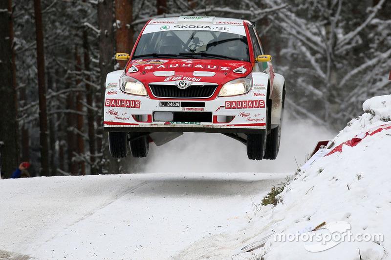 Johan Kristoffersen, Patrik Barth, Skoda Fabia S2000