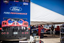 Le garage Ford Performance Chip Ganassi Racing Ford GT