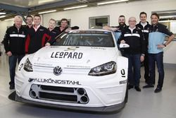 Stefano Comini and Jean-Karl Vernay, Leopard Racing WRT VW Golf TCR