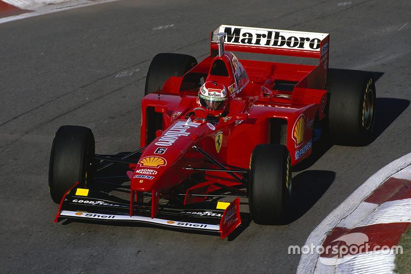 #6: Eddie Irvine, Ferrari F310B