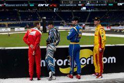 Sebastian Vettel, Scott Speed, Alexander Rossi und Ryan Hunter-Reay
