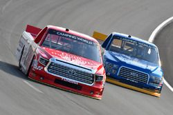 Austin Wayne Self, AM Racing Toyota, Chase Briscoe, Brad Keselowski Racing Ford