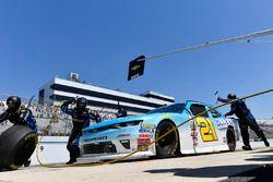 Daniel Hemric, Richard Childress Racing Chevrolet makes a pit stop