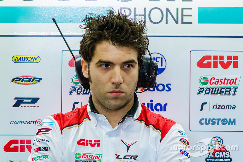 Marco Barbiani, Team LCR Honda, ingeniero de datos