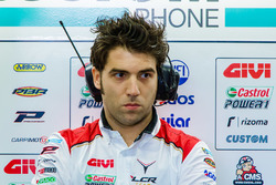 Marco Barbiani, Team LCR Honda data engineer