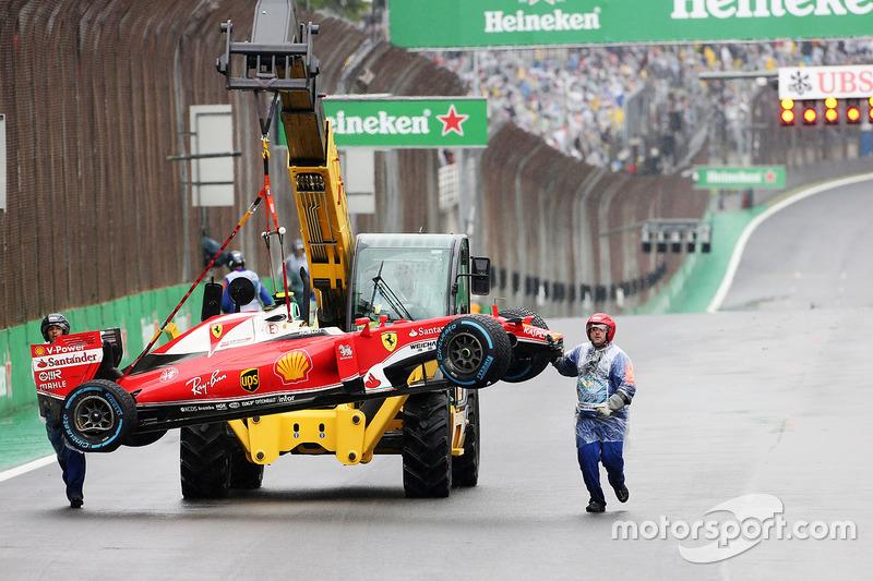 El Ferrari SF16-H de Kimi Raikkonen