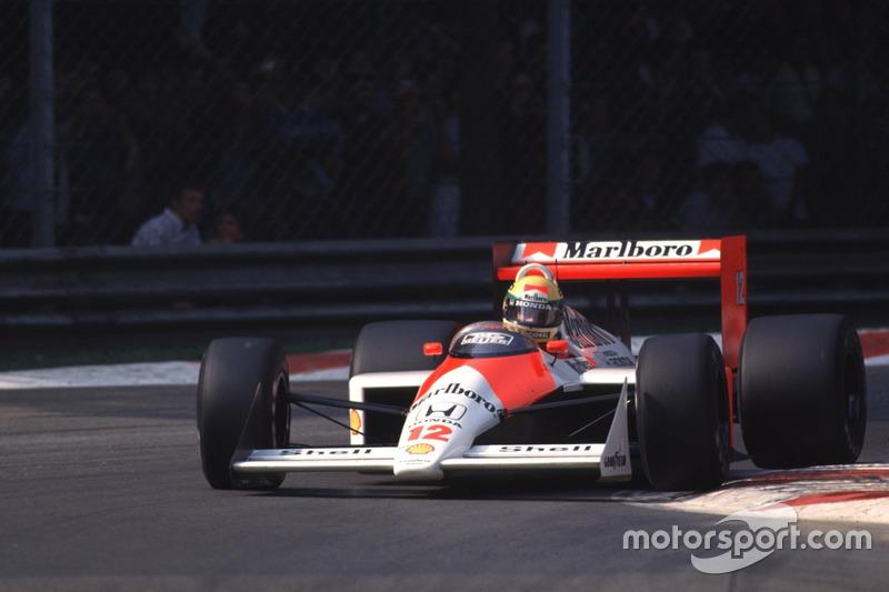 マクラーレンMP4/4・ホンダ(アイルトン・セナ/1988年イタリアGP)