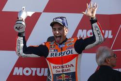 Podium : deuxième place pour Marc Marquez, Repsol Honda Team
