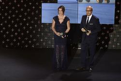 Suzi Perry, animatrice des FIM MotoGP Awards