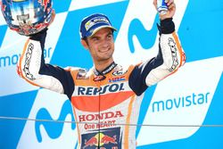 Podium : le deuxième, Dani Pedrosa, Repsol Honda Team