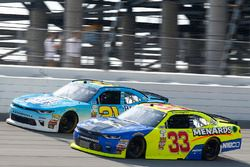 Daniel Hemric, Richard Childress Racing Chevrolet, Brandon Jones, Richard Childress Racing Chevrolet