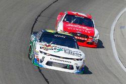 Blake Koch, Kaulig Racing Chevrolet and Ryan Reed, Roush Fenway Racing Ford