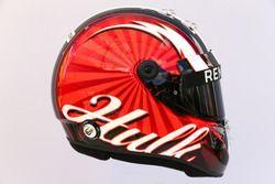 The helmet of Nico Hulkenberg, Renault Sport F1 Team RS17