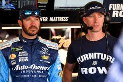 Martin Truex Jr., Furniture Row Racing Toyota, Cole Pearn