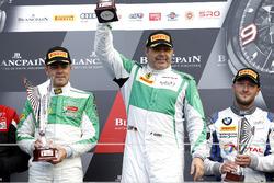 Podium AM: Ganador #488 Rinaldi Racing, Ferrari 488 GT3: Pierre Ehret, Rino Mastronardi