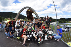 Red Bull Ring podium celebrations