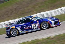 #03 TRG-AMR PorscheCaymanGT4ClubsportMR: Craig Lyons