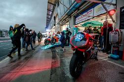 #85 Frostbeulen Racing, Ducati Panigale: Rainer Bäcker, Dierk Mester, Martin Mockenhaupt