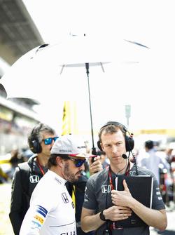 Fernando Alonso, McLaren, Mark Temple, McLaren