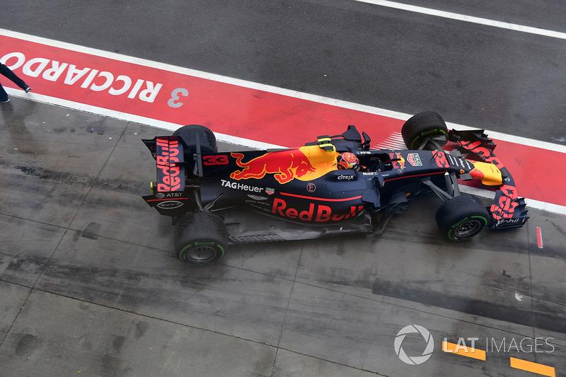 13: Max Verstappen, Red Bull Racing RB13 (termasuk penalti 20 grid)