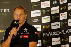 Kenneth Hansen, Team Peugeot-Hansen