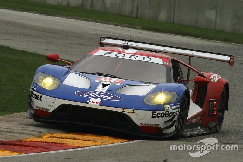 #66 Chip Ganassi Racing Ford GT: Dirk Müller, Joey Hand